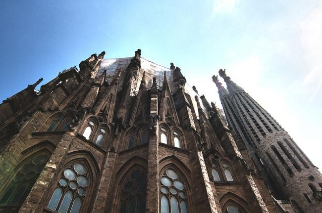 basilica familia barcelona