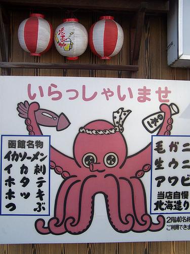 Tako Japan octopus